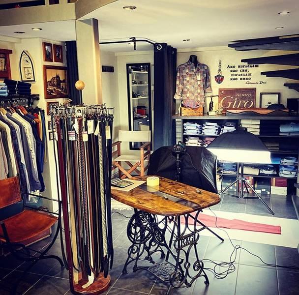 Izgled prodavnice Giro Uomo
